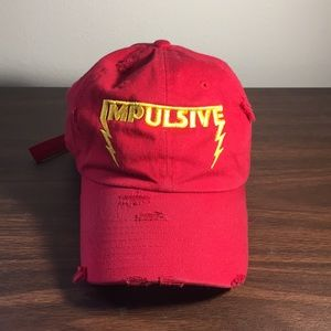 Other - Distressed trendy hat